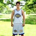 V Neck Printed Basketball Dress