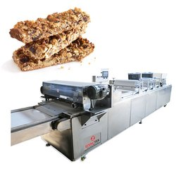 Energy Bar Sheeting and Cutting Machine