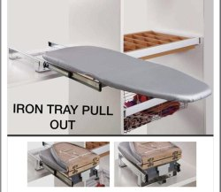 Grey Ironing Board Pull Out, For Home, Size: 295*430