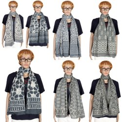 Bagru Printed Cotton Scarf