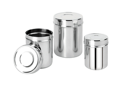 Amit Stainless Steel Canister, For Hotel/Restaurant