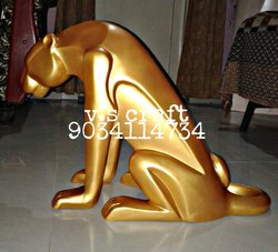 Fiber Decorative Statue