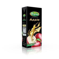 Orgeno Natural Apple Juice Drink, Packaging Type: Tetrapack