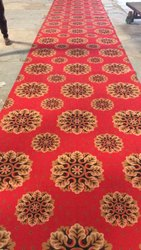 Brown Printed Non Woven Carpets, For Floor, Size/Dimension: 45 Mtr