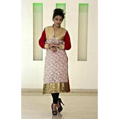 4839a3b7a10 Ladies Party Wear Woolen Kurti at Rs 1300  piece