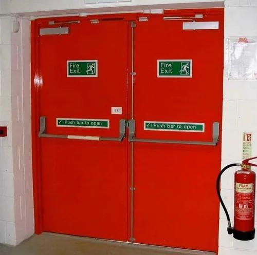 Emergency Exit Door & Emergency Exit Door Emergency Exit Door - Neelcon Automation u0026 Arch ...