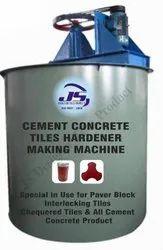 Cement Concrete Tiles Hardener Making Machine