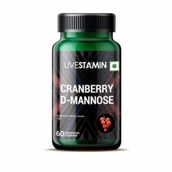 Cranberry D-Mannose Hibiscus Capsules Proanthocyanidins Urinary Tract Health Supplement