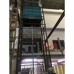 Center Cylinder Goods Lift