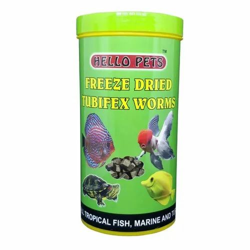 Hello Pets Freeze Dried Tubifex Worms Fish Food, Pack Size: 40g, Rs 270  /pack | ID: 20897224788