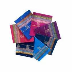 Printed Poly Cotton Sarees