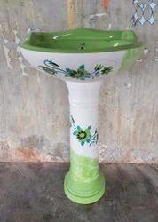 Ceramic Indian And Western Designer Set, Shape: Round, For Sanitary