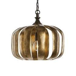 Pumpkin Pendant Light
