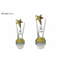 Crystal Multi Starrer Trophies