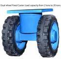 Dual Wheel Swivel Caster