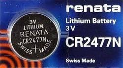 CR 2477N Renata Lithium Coin Cell 3V Batteries