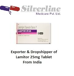 Lamitor 25mg Tablet