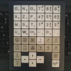 Fanuc Operator Membrane keypad A98L-0005-0298T Fanuc