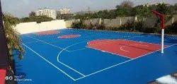 Basketball Court Flooring Acrylic Flooring