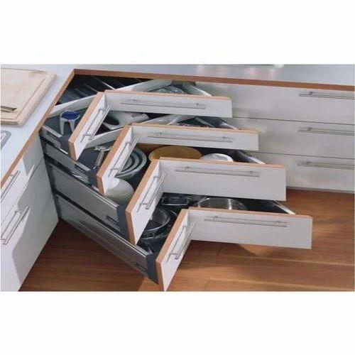 Costemised Corner Kitchen Cabinet Rs 1800 Piece Smart Interior Decoraters Id 18956939497