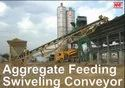 Aggregate Feeding Swiveling Conveyor