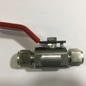 Double Ferrule Ends Two Way Ball Valves