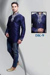 Designer Embroidered Kurta For  Men