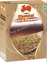 Chotelal Jeera Powder, Packaging Size: 50 g, Packaging Type: Box