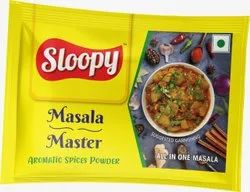 Sloopy Masala Master Spices Powder, Packaging Size: 7gm, Packaging Type: Packets