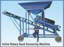 Inline Rotary Sand Screening Machine