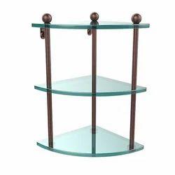 Front Glass Triple Shelf
