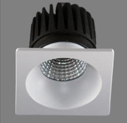 8w Square COB Light
