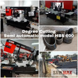 Degree Cutting Bandsaw Sawmax HBS 400