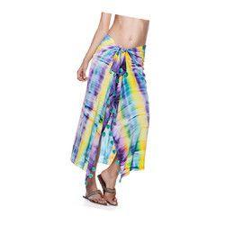 custom brand Custom Fabric Printed Silk Sarongs