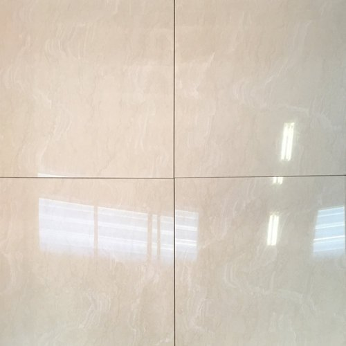 White Glossy Floor Tile 10 15 Mm