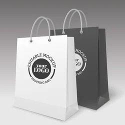 Craft Paper Printed Carry Bag