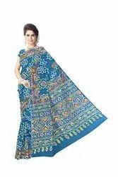 Resham Work Design Gaji Silk Bandhani Saree