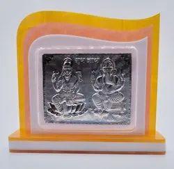Silver Laxmi Ganesh Gift
