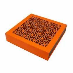 Cardboard Rectangle Diwali Chocolate Gift Box, Box Capacity: 250 - 500 G