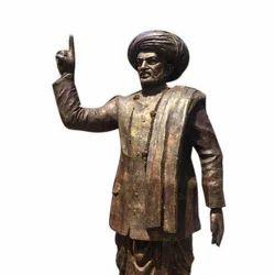 Jagatjyoti Mahatma Basveshwar Marble Statue