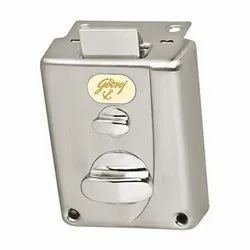 Stainless Steel Godrej Door Lock