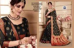 Festive Wear Rachna Banarasi Silk Saawariya Catalog Saree Set For Woman 7, 6.3 m (with blouse piece)