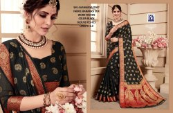 Rachna Banarasi Silk Saawariya Catalog Saree Set For Woman 7