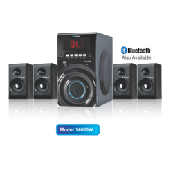 4.1 Multimedia Speaker with Bluetooth