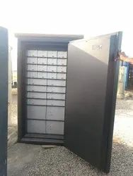 Safe with safe Deposit lockers