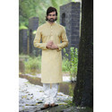 Simple Party Wear Men Kurta Payjama
