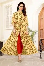 Ladies Printed Fancy Kurti