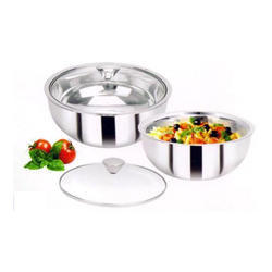 ALAISHA Stainless Steel Curry Bowl, for Hotel/Restaurant