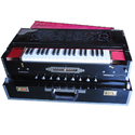 11 Scale 3 Line Portable Harmonium With Coupler