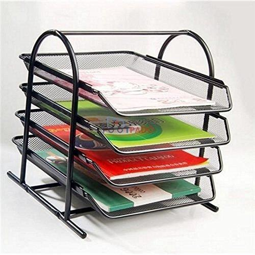 tray barbed storage letter organizer wire tier office file shelf mesh product desk